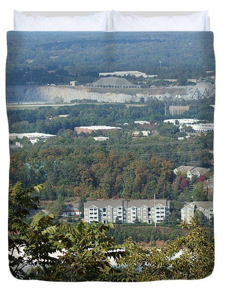Kennesaw Battlefield Mountain Duvet Cover