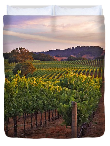 Knight's Valley Summer Solstice Duvet Cover