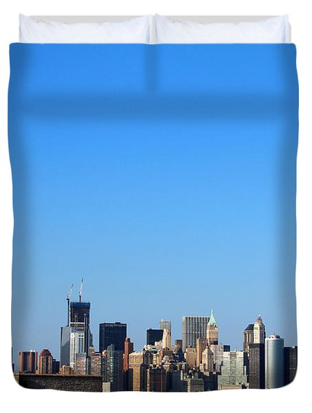 Lady Liberty Watches 1wtc Rise Duvet Cover
