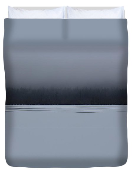 Lake Chororua  Duvet Cover