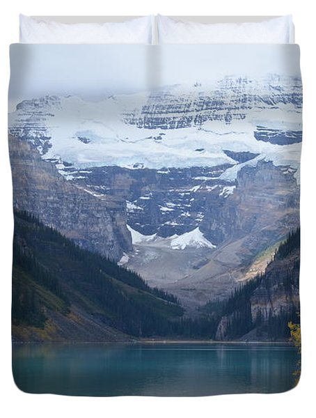 Lake Louise In Fall Duvet Cover