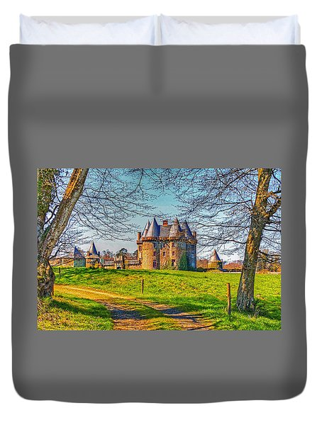 Chateau De Landale Duvet Cover by Elf Evans