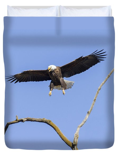Landing Approach 1 Duvet Cover
