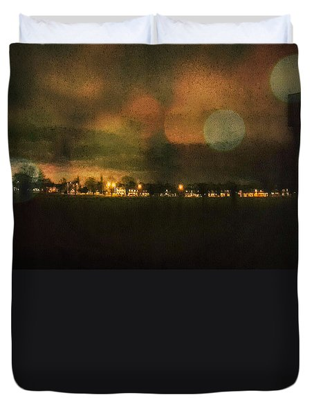 Duvet Cover featuring the photograph Landscape  by Mariusz Zawadzki