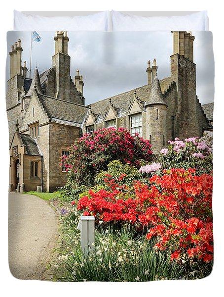 Lauriston Castle Duvet Cover by Grant Glendinning