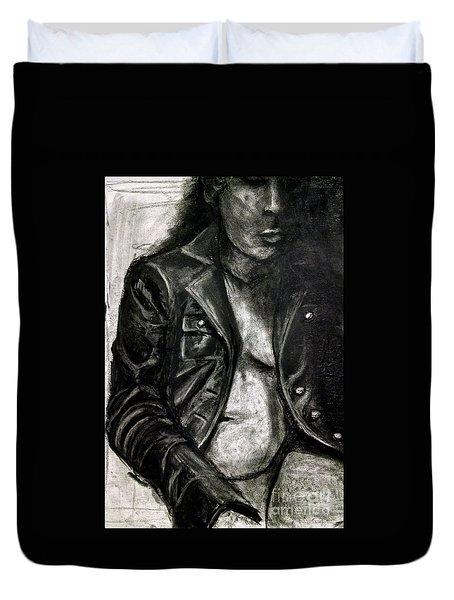 Leather Jacket Duvet Cover
