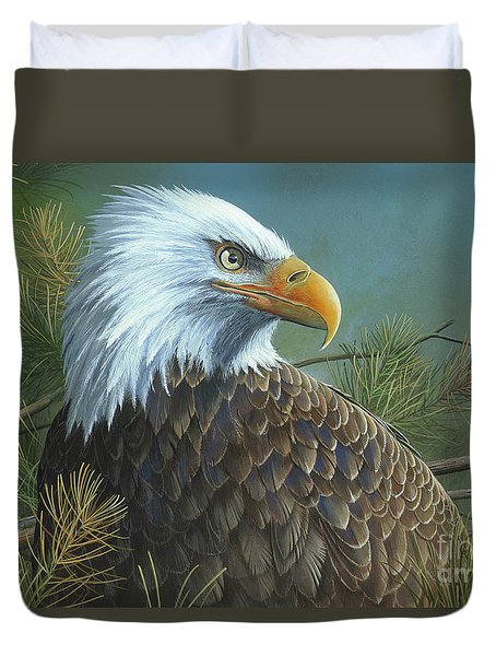 Legacy Duvet Cover by Mike Brown