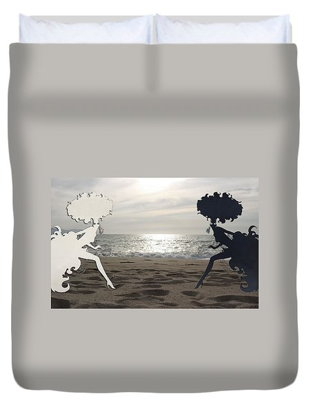 Light And Shadow Duvet Cover