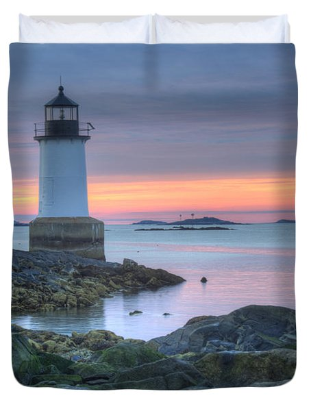 Lighthouse Duvet Cover by Juli Scalzi