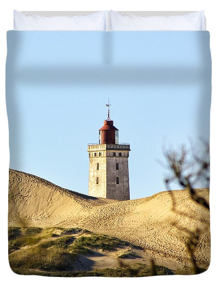 Lighthouse Duvet Cover by Mike Santis