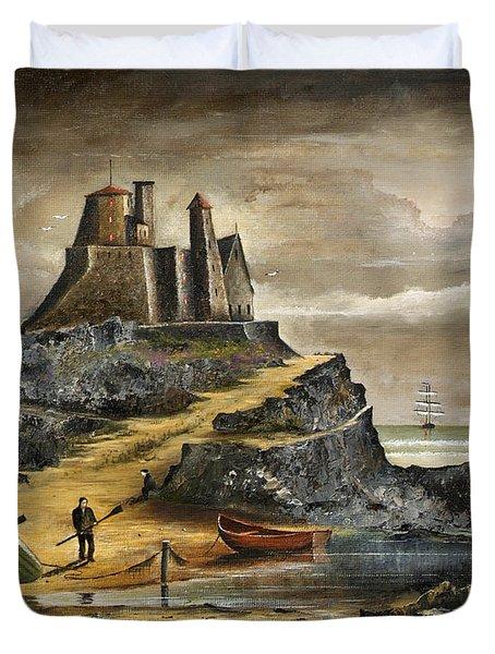 Lindisfarne 2 Duvet Cover