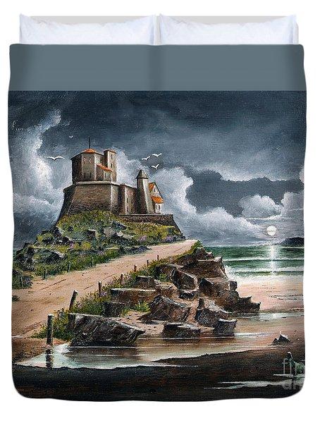 Lindisfarne Duvet Cover
