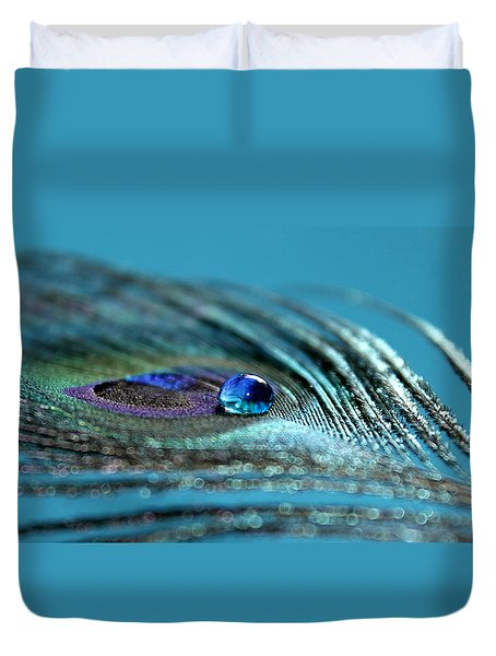 Liquid Blue Duvet Cover
