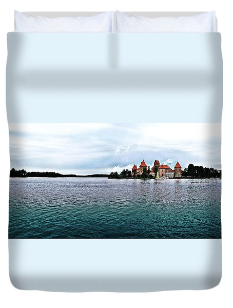 Lithuanian Castle Duvet Cover