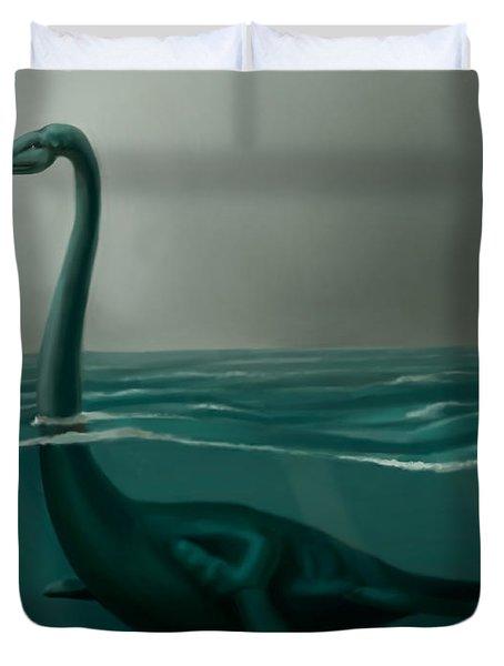 Lochness Monster Duvet Cover