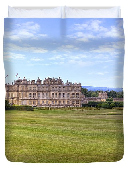 Longleat House - Wiltshire Duvet Cover by Joana Kruse