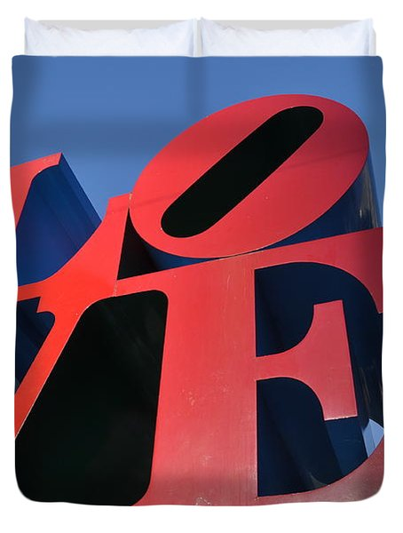 Love Duvet Cover by Bill Cannon