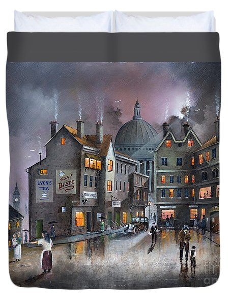 Ludgate Hill Duvet Cover