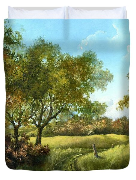 Luray Pasture Duvet Cover