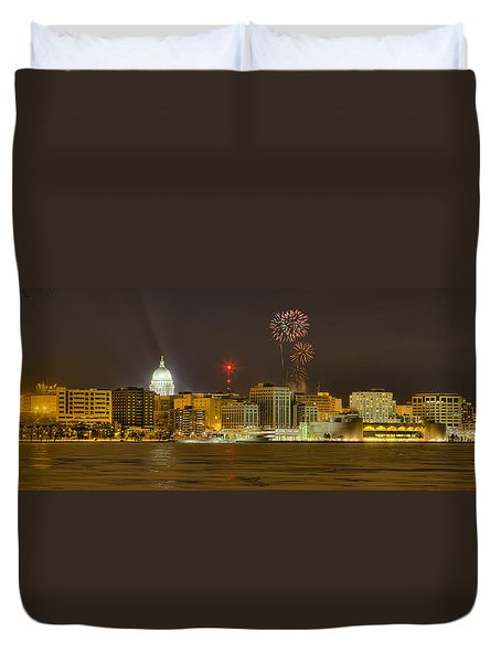 Madison New Years Eve Duvet Cover