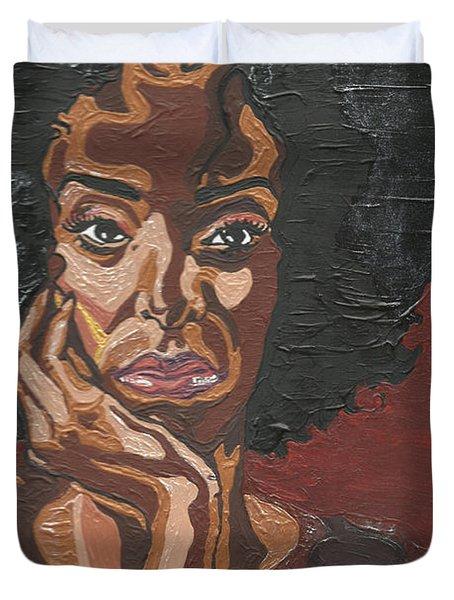 Mahogany Duvet Cover