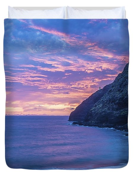 Makapuu Sunrise 2 Duvet Cover