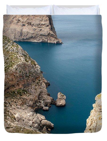 Mallorca View Duvet Cover