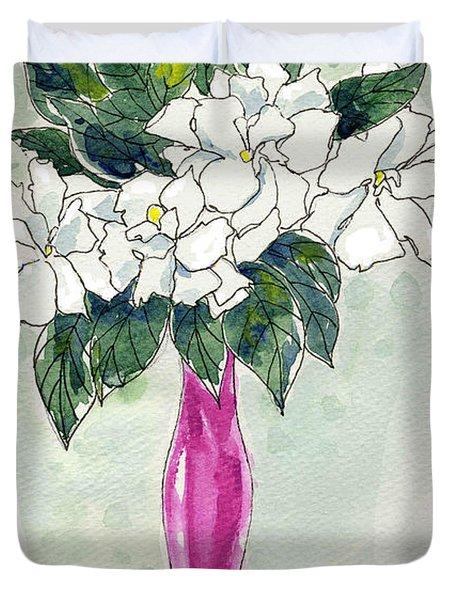 Mama's Vase Duvet Cover
