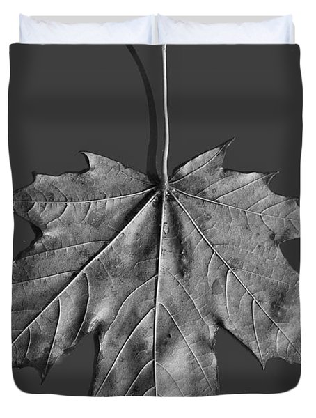 Maple Leaf Duvet Cover by Steven Ralser