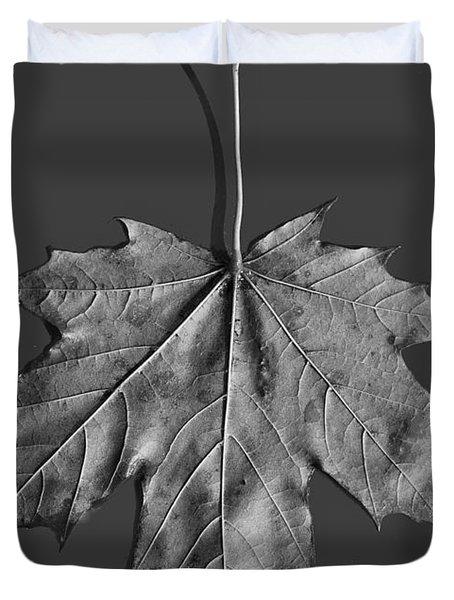 Maple Leaf Duvet Cover by Steven Ralser