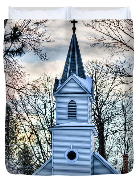 Maria Chapel Duvet Cover by Paul Freidlund