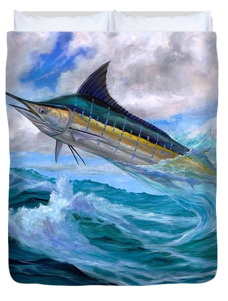 Marlin Low-flying Duvet Cover
