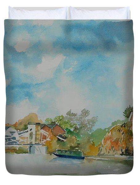 Marlow On Thames Duvet Cover