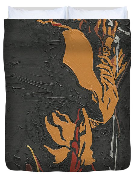 Martin Luther Mccoy Duvet Cover