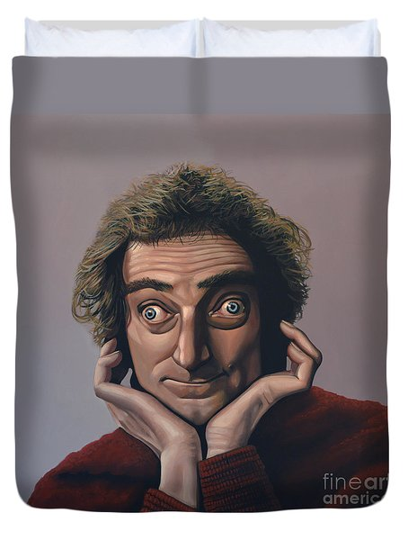 Marty Feldman Duvet Cover by Paul Meijering