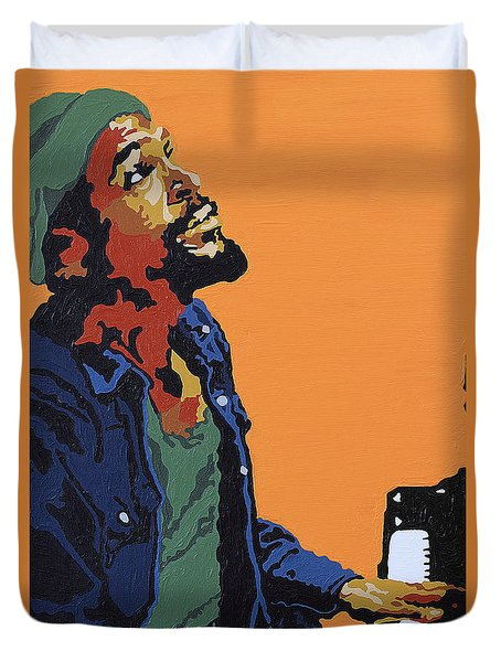 Marvin Gaye Duvet Cover