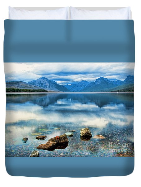 Mcdonald Lake Duvet Cover