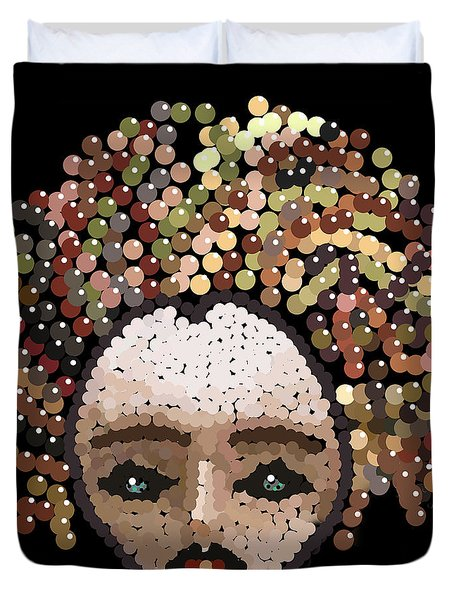 Medusa Bedazzled After Duvet Cover