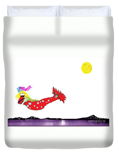 Mermaid 2 Duvet Cover