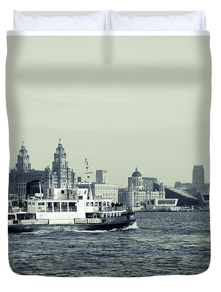 Mersey Ferry Duvet Cover