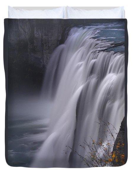 Mesa Falls Duvet Cover