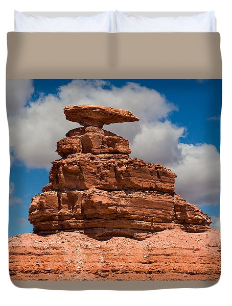 Mexican Hat Rock Duvet Cover