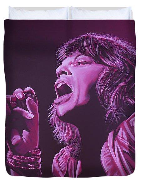 Mick Jagger 2 Duvet Cover