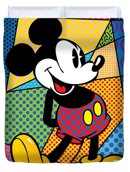Mickey Spotlight Duvet Cover