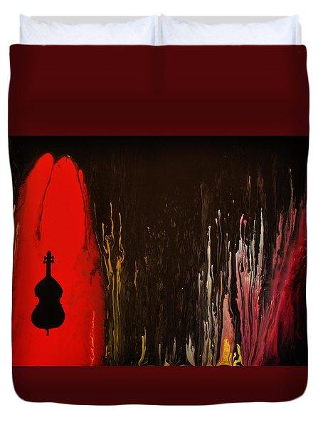 Mingus Duvet Cover by Michael Cross