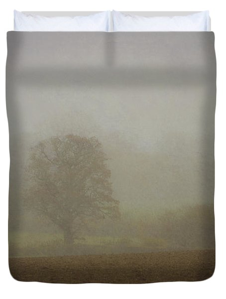 Misty  Morning. Duvet Cover