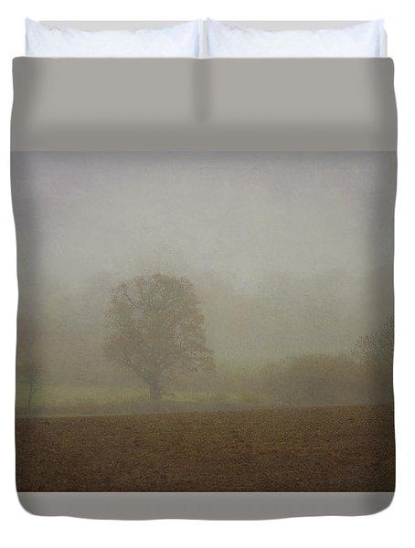Misty  Morning. Duvet Cover