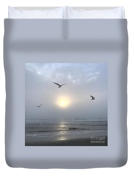 Moment Of Grace Duvet Cover