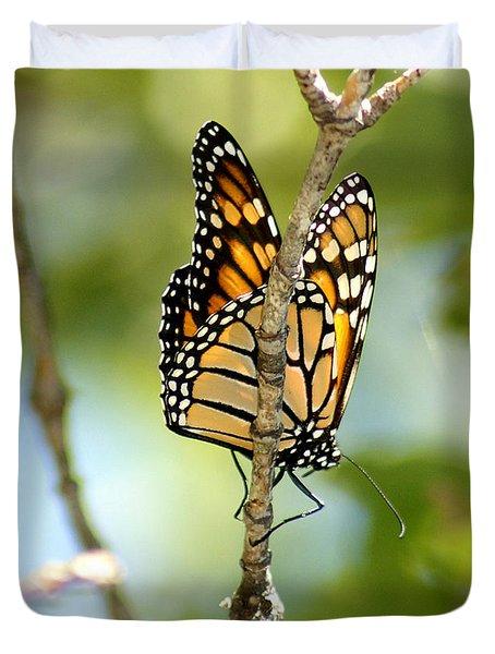 Monarch Duvet Cover by Lori Tordsen