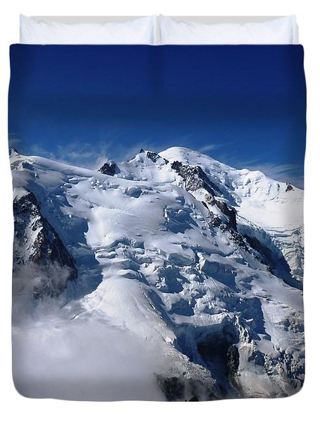 Mont Blanc - France Duvet Cover